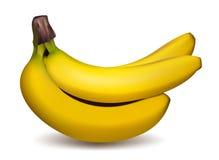 μπανάνες ώριμες Στοκ Φωτογραφίες