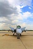 ΜΠΑΝΓΚΟΚ - 2 ΙΟΥΛΊΟΥ: JAS 39 Gripen Στοκ Φωτογραφίες