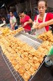 ΜΠΑΝΓΚΟΚ, - ΣΤΙΣ 10 ΦΕΒΡΟΥΑΡΊΟΥ: Κινεζικό νέο έτος 2013 - εορτασμοί μέσα Στοκ Εικόνα