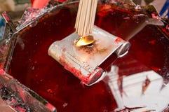 ΜΠΑΝΓΚΟΚ, - ΣΤΙΣ 10 ΦΕΒΡΟΥΑΡΊΟΥ: Κινεζικό νέο έτος 2013 - εορτασμοί μέσα Στοκ εικόνες με δικαίωμα ελεύθερης χρήσης
