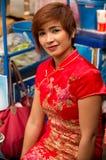 ΜΠΑΝΓΚΟΚ, - ΣΤΙΣ 10 ΦΕΒΡΟΥΑΡΊΟΥ: Κινεζικό νέο έτος 2013 - εορτασμοί μέσα Στοκ φωτογραφίες με δικαίωμα ελεύθερης χρήσης