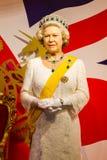 ΜΠΑΝΓΚΟΚ, ΤΑΪΛΑΝΔΗ - 19 ΔΕΚΕΜΒΡΊΟΥ: Αριθμός κεριών της διάσημης βασίλισσας Στοκ Εικόνα