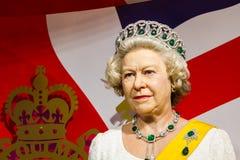 ΜΠΑΝΓΚΟΚ, ΤΑΪΛΑΝΔΗ - 19 ΔΕΚΕΜΒΡΊΟΥ: Αριθμός κεριών της διάσημης βασίλισσας Στοκ Εικόνες