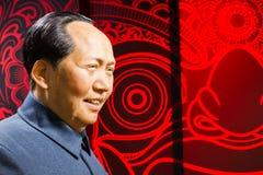 ΜΠΑΝΓΚΟΚ, ΤΑΪΛΑΝΔΗ - 19 ΔΕΚΕΜΒΡΊΟΥ: Αριθμός κεριών του διάσημου Mao Ze Στοκ εικόνα με δικαίωμα ελεύθερης χρήσης