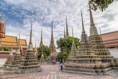 ΜΠΑΝΓΚΟΚ, ΤΑΪΛΑΝΔΗ - ΤΟΝ ΑΎΓΟΥΣΤΟ ΤΟΥ 2015 CIRCA: Wat Pho, Μπανγκόκ, Ταϊλάνδη στοκ εικόνα με δικαίωμα ελεύθερης χρήσης