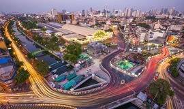 ΜΠΑΝΓΚΟΚ, ΤΑΪΛΑΝΔΗ 5 Φεβρουαρίου: Κεντρικός σταθμός τρένου HU της Μπανγκόκ στοκ φωτογραφία