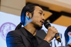 ΜΠΑΝΓΚΟΚ - 19 ΦΕΒΡΟΥΑΡΊΟΥ 2014: Toon (Athiwara Khongmalai) - Si μολύβδου Στοκ εικόνες με δικαίωμα ελεύθερης χρήσης