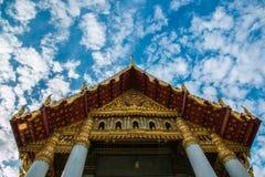 Μπανγκόκ, μαρμάρινος ναός Στοκ εικόνες με δικαίωμα ελεύθερης χρήσης