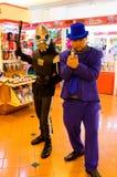 Ιαπωνικό anime cosplay στο κωμικό Κόμμα 46ο. Στοκ Εικόνες