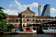 Μπανγκόκ, Ταϊλάνδη: Επιχείρηση BLDG της ανατολικής Ινδίας. στοκ φωτογραφίες με δικαίωμα ελεύθερης χρήσης