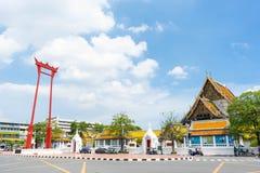 Μπανγκόκ, Ταϊλάνδη - 12 Μαΐου 2018: Το γιγαντιαίο Σάο Chingcha ταλάντευσης Στοκ εικόνες με δικαίωμα ελεύθερης χρήσης