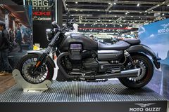 Μπανγκόκ, Ταϊλάνδη - 30 Νοεμβρίου 2018: Μοτοσικλέτα και εξάρτημα στη διεθνή ΜΗΧΑΝΗ EXPO 2018 EXPO 2018 μηχανών της Ταϊλάνδης επάν στοκ εικόνες με δικαίωμα ελεύθερης χρήσης