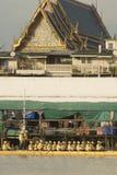 Μπανγκόκ, Ταϊλάνδη, πομπή των βασιλικών φορτηγίδων Στοκ εικόνα με δικαίωμα ελεύθερης χρήσης