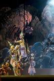 Μπανγκόκ Ταϊλάνδη - 13 Δεκεμβρίου 2015, Khon είναι δράμα χορού Tha Στοκ Φωτογραφία