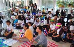 Μπανγκόκ, Ταϊλάνδη: Η λειτουργία διέκοψε τη Μπανγκόκ Protestors Στοκ φωτογραφία με δικαίωμα ελεύθερης χρήσης