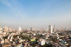 Μπανγκόκ, Ταϊλάνδη - 24 Ιανουαρίου 2017: Πόλη της Μπανγκόκ, κεντρική Στοκ Εικόνες