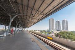 Μπανγκόκ, 30.2014 Ταϊλάνδη-Ιανουαρίου: σταθμός τρένου ουρανού Στοκ Εικόνα