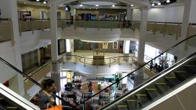 Μπανγκόκ Ταϊλάνδη 31 Ιουλίου 2014 Κυλιόμενη σκάλα στο α απόθεμα βίντεο