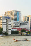 Μπανγκόκ, Ταϊλάνδη - 14 Οκτωβρίου 2016: Άποψη νοσοκομείων Siriraj από Στοκ Εικόνες