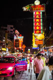 Μπανγκόκ, Ταϊλάνδη: Πόλη της Κίνας Στοκ εικόνες με δικαίωμα ελεύθερης χρήσης