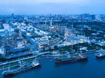 Μπανγκόκ Ταϊλάνδη στις 11 Μαΐου 2017: εναέριος βλαστός του πετρελαιοφόρου SH Στοκ εικόνες με δικαίωμα ελεύθερης χρήσης