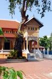 Μπανγκόκ boworiwet Ταϊλάνδη wat Στοκ φωτογραφία με δικαίωμα ελεύθερης χρήσης