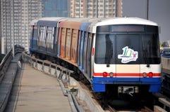Μπανγκόκ bts skytrain Ταϊλάνδη Στοκ Εικόνες