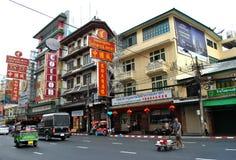 Μπανγκόκ chinatown Στοκ Εικόνες