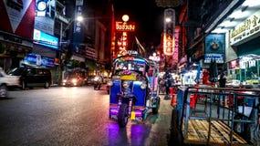 Μπανγκόκ chinatown Στοκ φωτογραφία με δικαίωμα ελεύθερης χρήσης