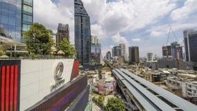 Μπανγκόκ Emquartier απόθεμα βίντεο