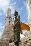 Μπανγκόκ thailan Wat Arun στοκ εικόνες