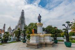 Μπανγκόκ-Wat Arun είναι ένας βουδιστικός ναός στην περιοχή της Μπανγκόκ Yai της Μπανγκόκ, Ταϊλάνδη, στο Thonburi Δυτική Όχθη του  Στοκ φωτογραφίες με δικαίωμα ελεύθερης χρήσης