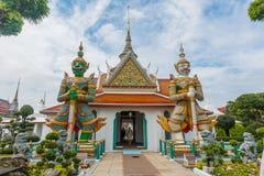 Μπανγκόκ-Wat Arun είναι ένας βουδιστικός ναός στην περιοχή της Μπανγκόκ Yai της Μπανγκόκ, Ταϊλάνδη, στο Thonburi Δυτική Όχθη του  Στοκ εικόνες με δικαίωμα ελεύθερης χρήσης