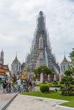Μπανγκόκ-Wat Arun είναι ένας βουδιστικός ναός στην περιοχή της Μπανγκόκ Yai της Μπανγκόκ, Ταϊλάνδη, στο Thonburi Δυτική Όχθη του  Στοκ Φωτογραφίες