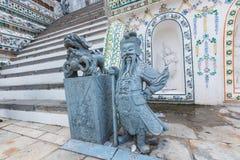 Μπανγκόκ-Wat Arun είναι ένας βουδιστικός ναός στην περιοχή της Μπανγκόκ Yai της Μπανγκόκ, Ταϊλάνδη, στο Thonburi Δυτική Όχθη του  Στοκ φωτογραφία με δικαίωμα ελεύθερης χρήσης