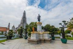 Μπανγκόκ-Wat Arun είναι ένας βουδιστικός ναός στην περιοχή της Μπανγκόκ Yai της Μπανγκόκ, Ταϊλάνδη, στο Thonburi Δυτική Όχθη του  Στοκ Εικόνα