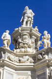 μπαρόκ άγαλμα στοκ εικόνες