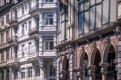 Μπαρόκ αρχιτεκτονική της Ζυρίχης Στοκ εικόνες με δικαίωμα ελεύθερης χρήσης