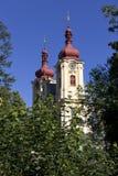 Μπαρόκ βασιλική του Visitation Virgin Mary, θέση του προσκυνήματος, Hejnice, Δημοκρατία της Τσεχίας στοκ φωτογραφία με δικαίωμα ελεύθερης χρήσης