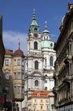 μπαρόκ δημοκρατία της Πράγα Στοκ φωτογραφία με δικαίωμα ελεύθερης χρήσης