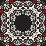 μπαρόκ διακόσμηση floral ελεύθερη απεικόνιση δικαιώματος
