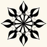 μπαρόκ διακόσμηση floral διανυσματική απεικόνιση