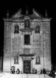 Μπαρόκ εκκλησία στην επαρχία Lecce, Apulia, Ιταλία Στοκ φωτογραφία με δικαίωμα ελεύθερης χρήσης