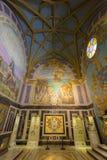 Μπαρόκ εσωτερικό του της Λίμα καθεδρικού ναού Κύριο τετράγωνο, Περού Στοκ φωτογραφία με δικαίωμα ελεύθερης χρήσης