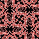 Μπαρόκ ζωηρόχρωμο διανυσματικό άνευ ραφής σχέδιο Γεωμετρικό σύγχρονο διακοσμητικό υπόβαθρο Διαμορφωμένος επαναλάβετε το σκηνικό σ απεικόνιση αποθεμάτων