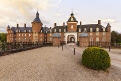 Μπαρόκ κάστρο Anholt σε Borken, χαμηλότερη περιοχή του Ρήνου Στοκ Εικόνα