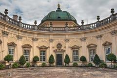 Μπαρόκ κάστρο Buchlovice Στοκ Φωτογραφία