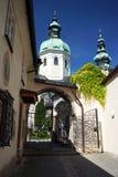 Μπαρόκ καθεδρικός ναός του Σάλτζμπουργκ Στοκ φωτογραφίες με δικαίωμα ελεύθερης χρήσης