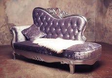 Μπαρόκ καναπές πολυτέλειας Στοκ Εικόνα