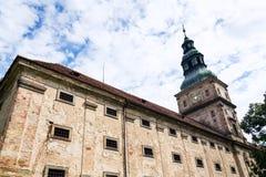 Μπαρόκ κιστερκιανό μοναστήρι Plasy, περιοχή Plzen, της Δημοκρατίας της Τσεχίας, θερινή ημέρα στοκ φωτογραφία με δικαίωμα ελεύθερης χρήσης